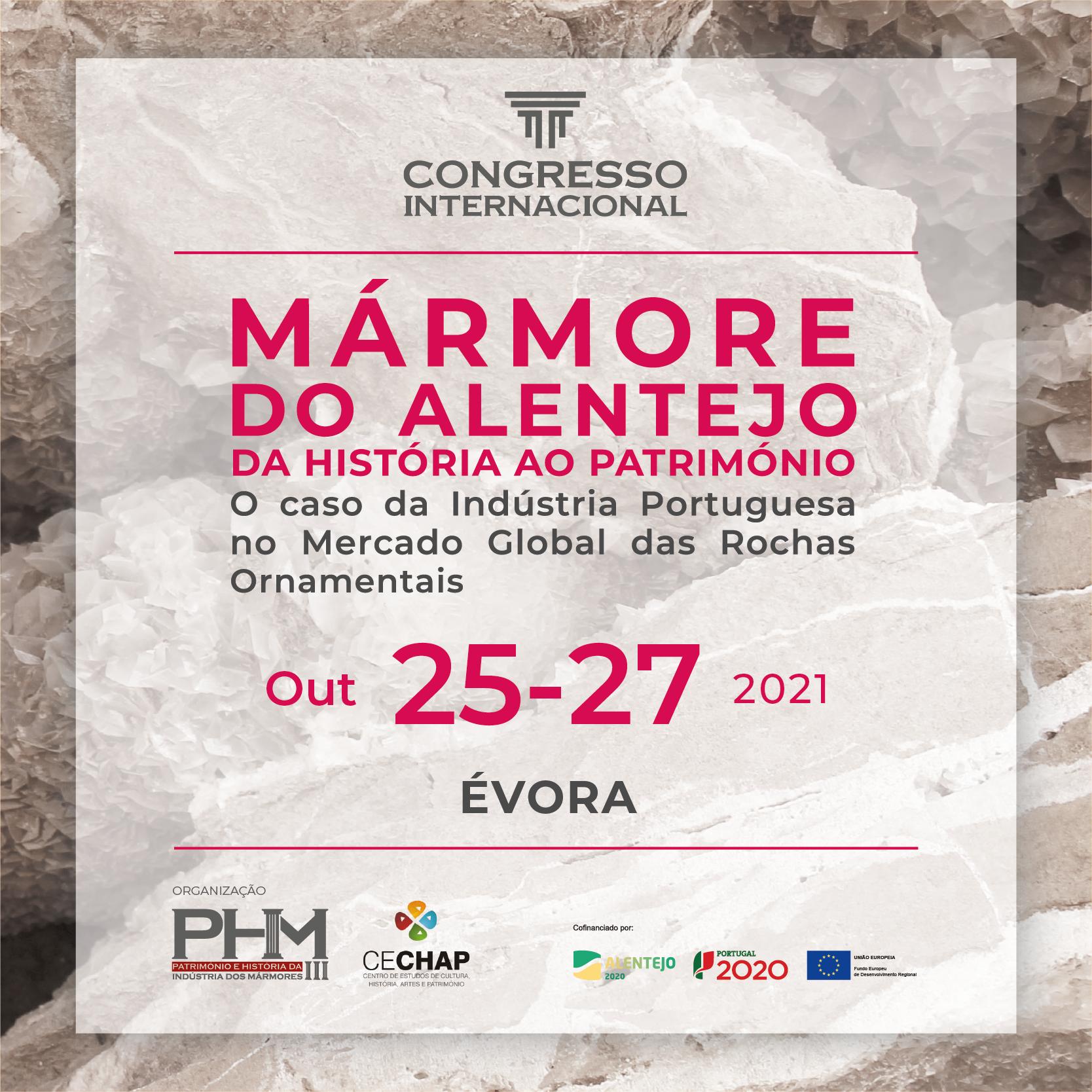 Congresso Internacional Marmore Historia Património