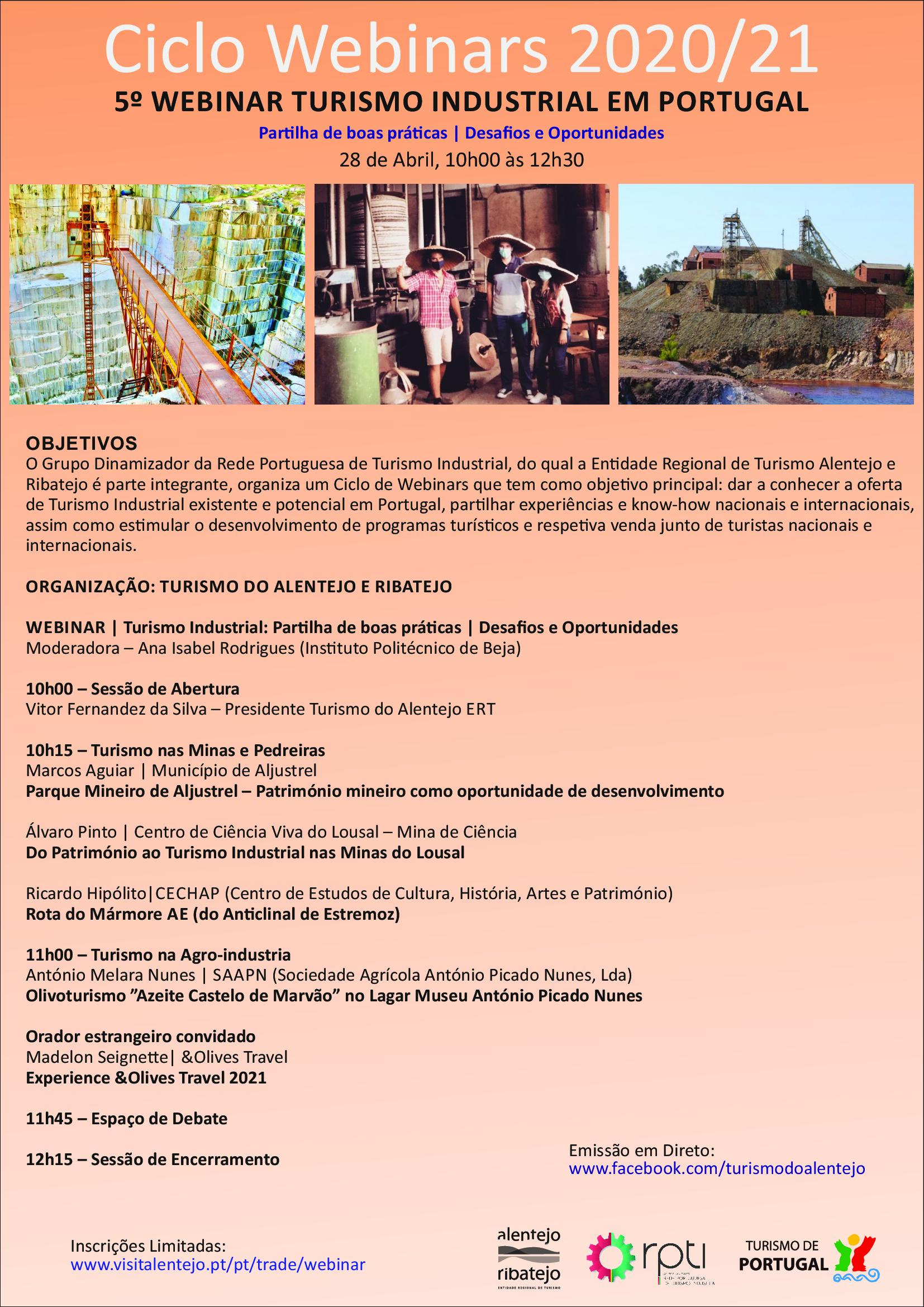 Webinar Turismo Industrial
